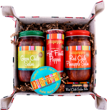 Jillipepper Fiesta Gift Box Sampler is a great southwestern gift idea