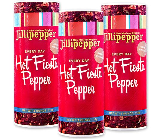Three Jillipepper Hot Fiesta Pepper